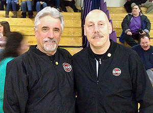 Board 28 Members Glenn Mallett and Steve Crites
